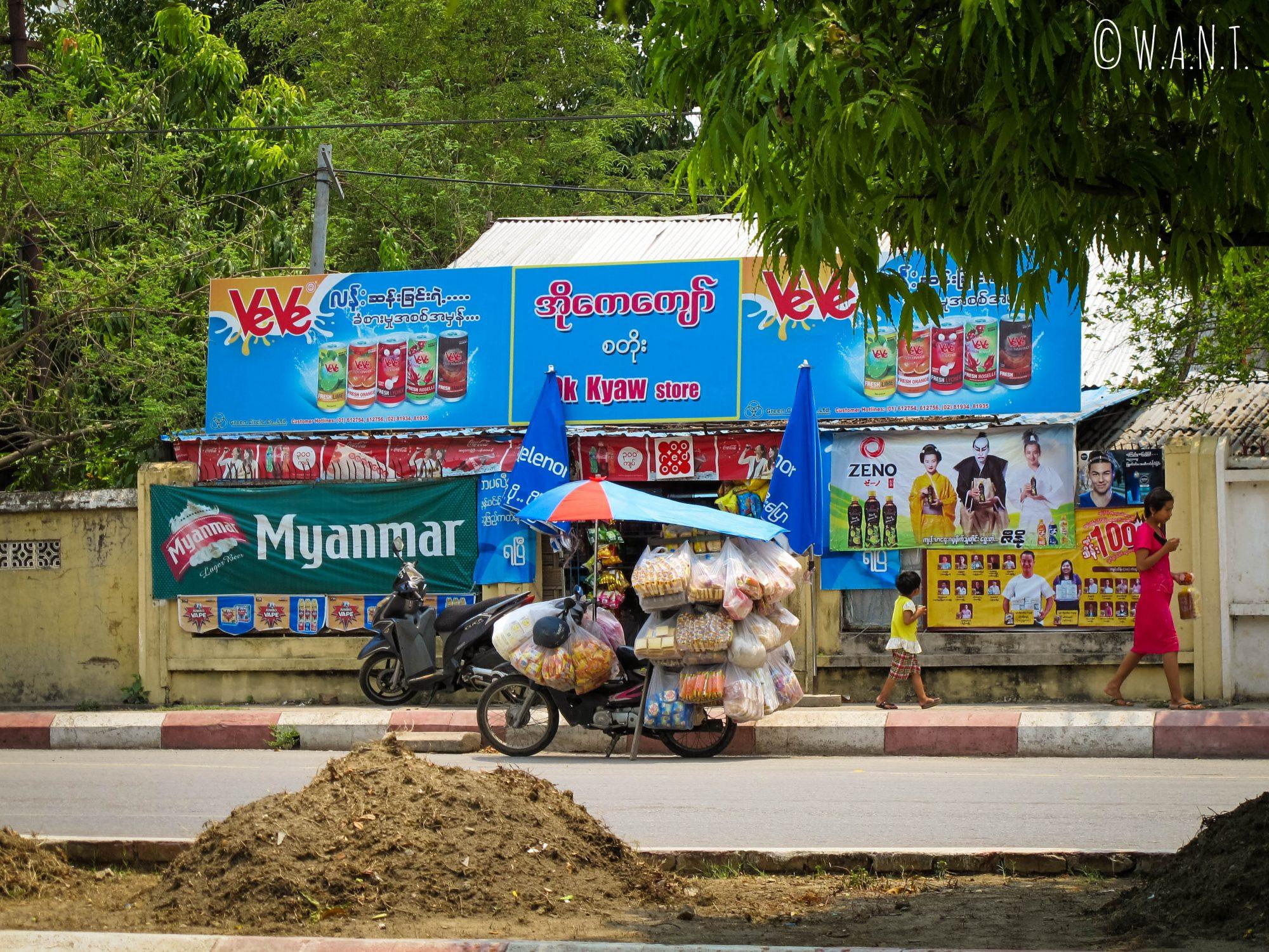 Echoppe à Mandalay
