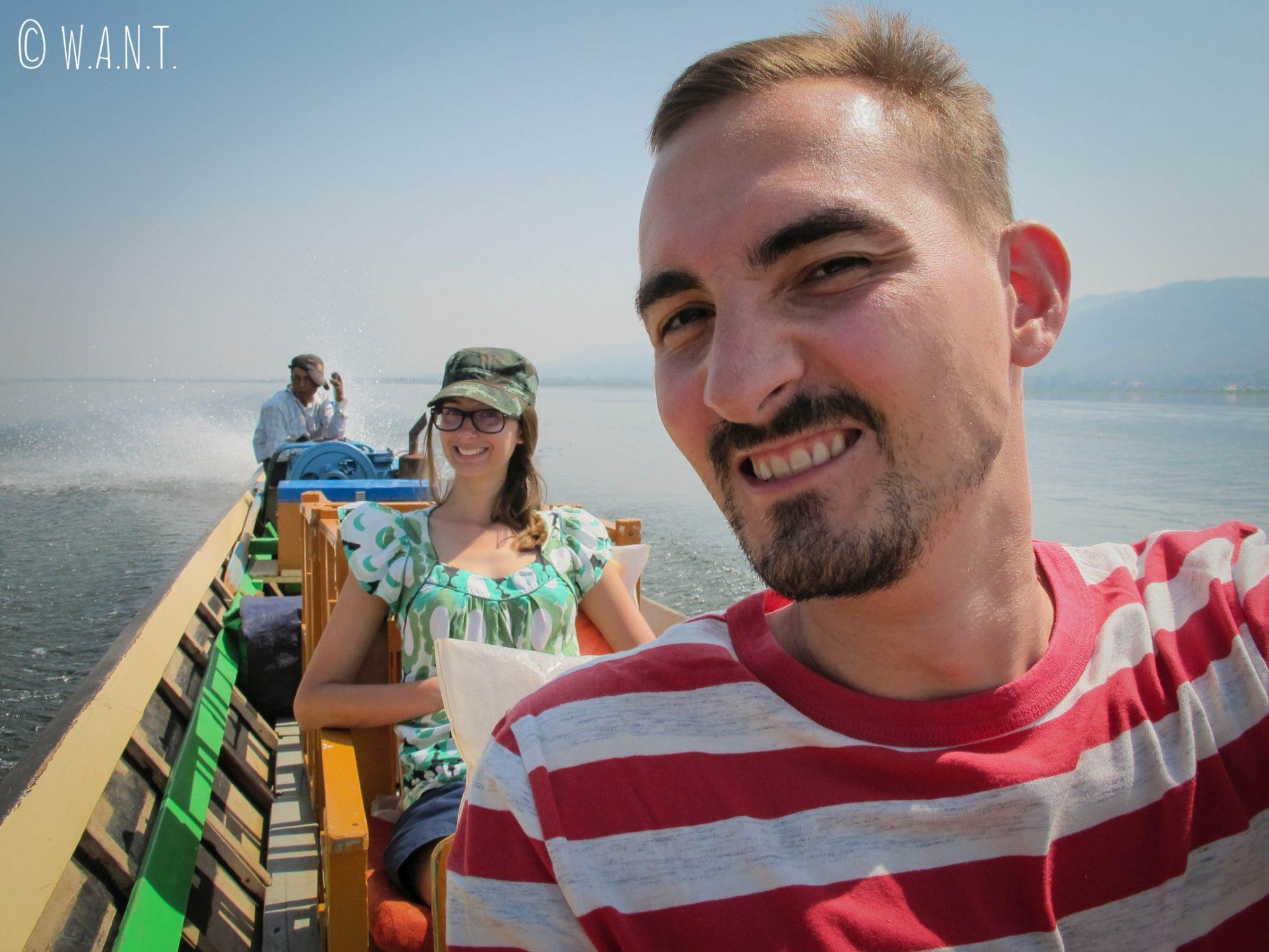 En route pour notre journée sur le Lac Inle