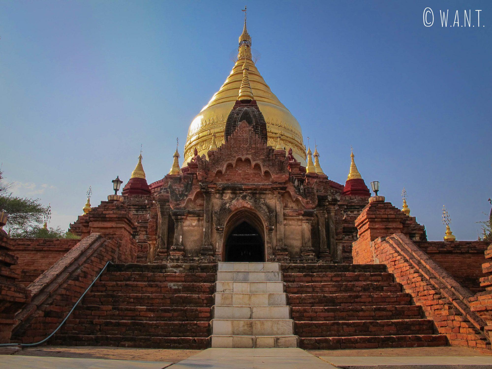 Entrée de la pagode Dhammayanzika