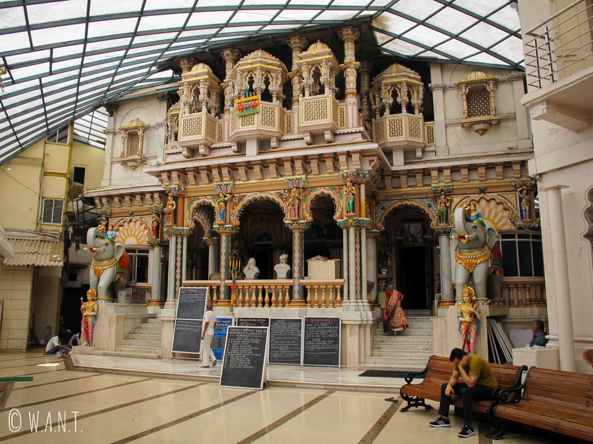 Jain Temple dans le quartier de Malabar Hill