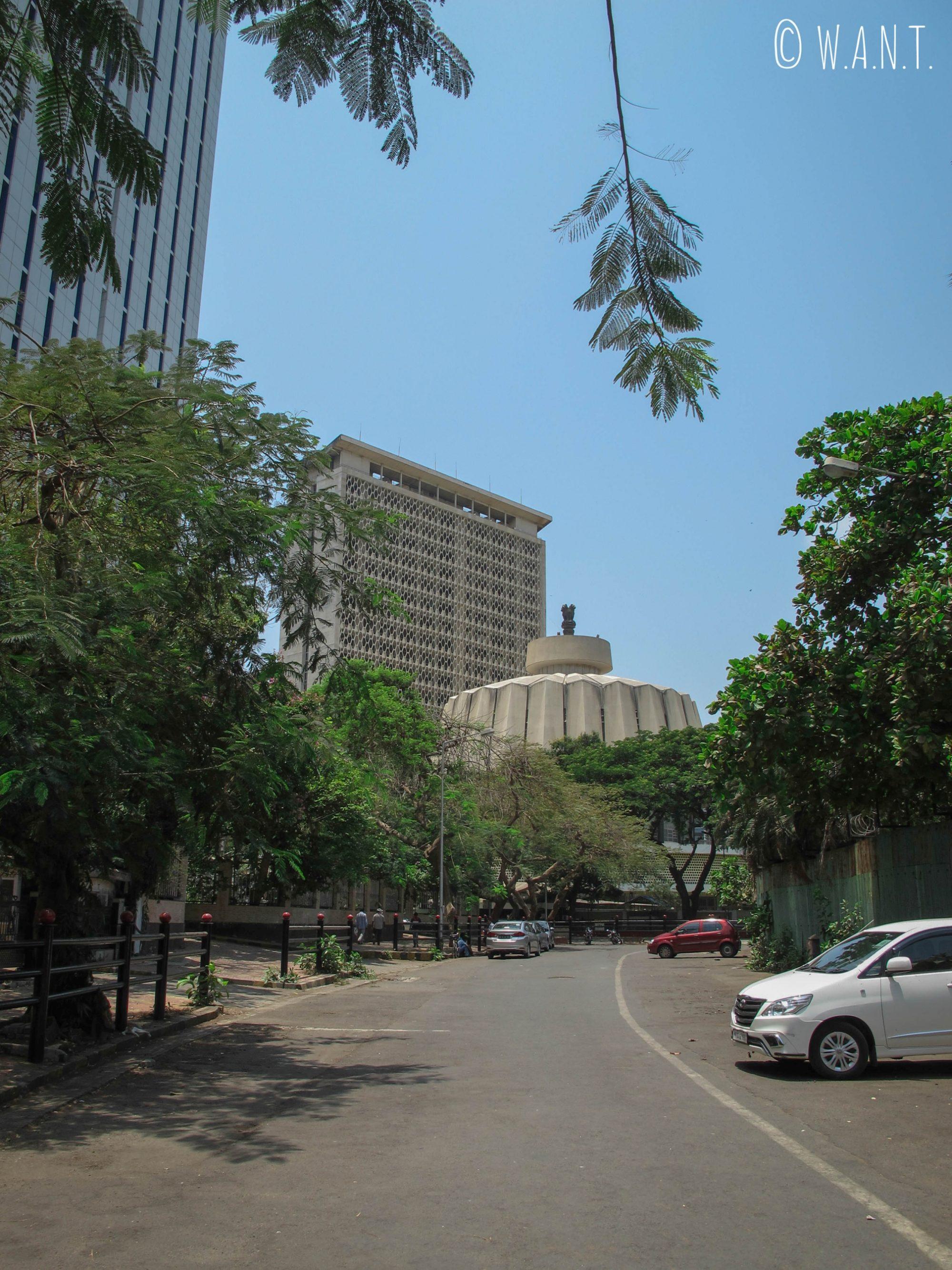 Maharashtra Vidhan Bhavan dans le quartier des affaires