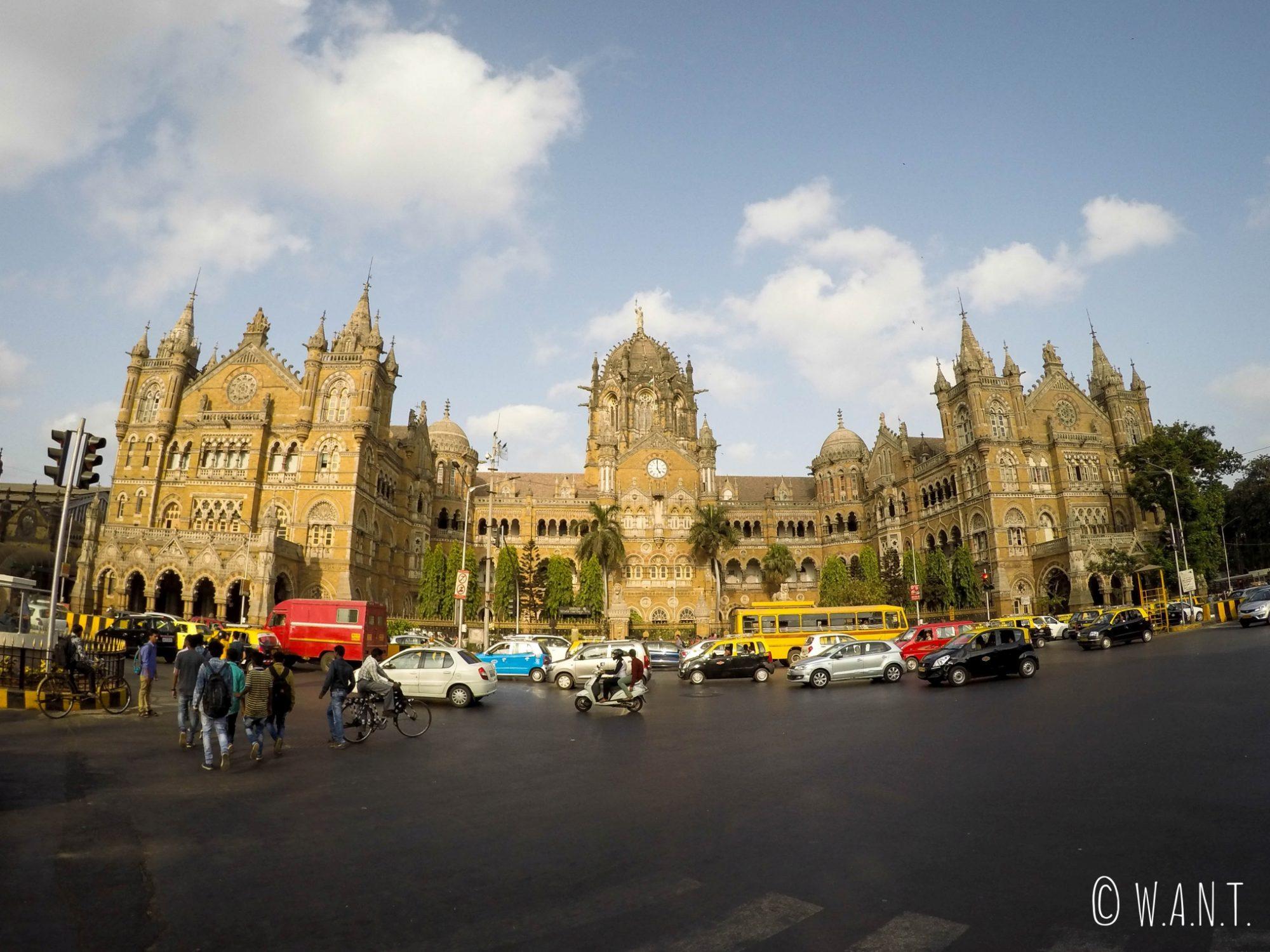 Panorama de la gare Chhatrapati Shivaji Terminus