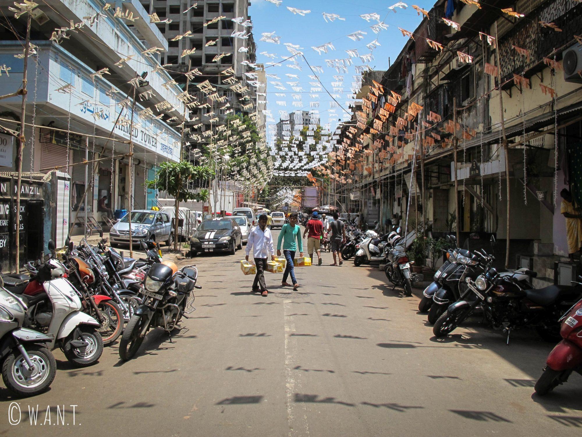 Rue Madhav Rao Gangan à Mumbai