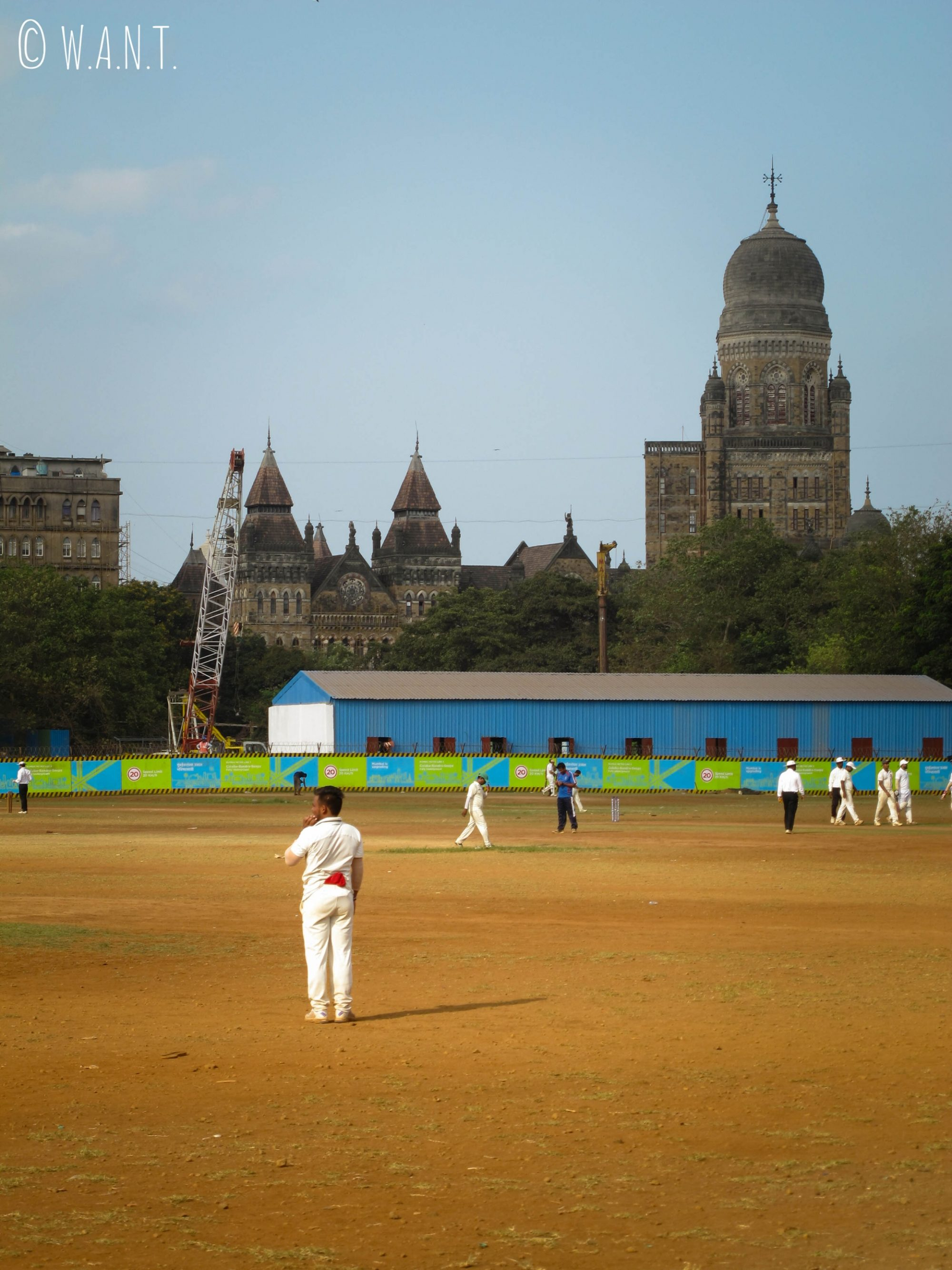 Terrain de cricket Oval Maidan