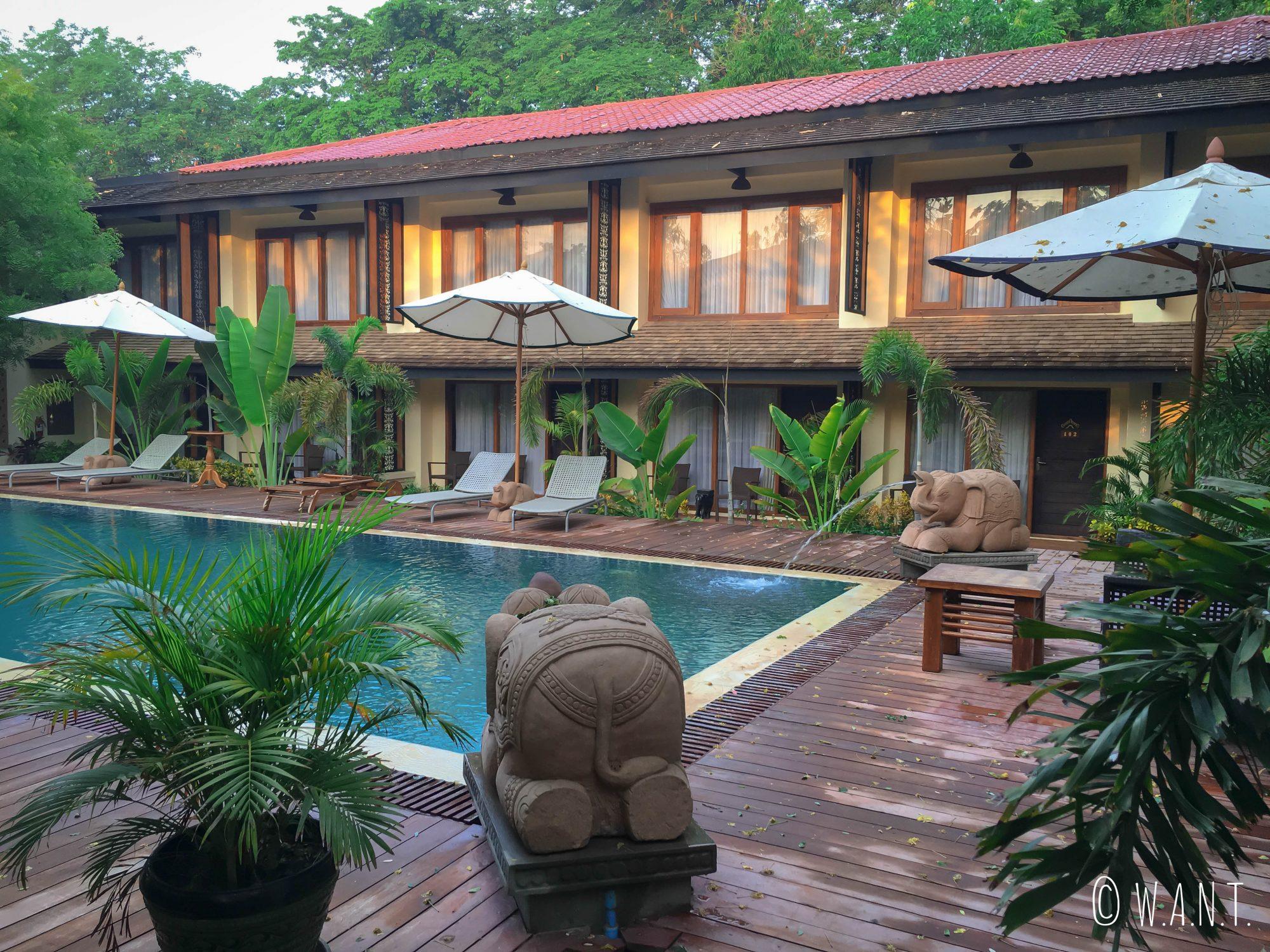 Vue extérieure de notre hôtel My Bagan Residence by Amata