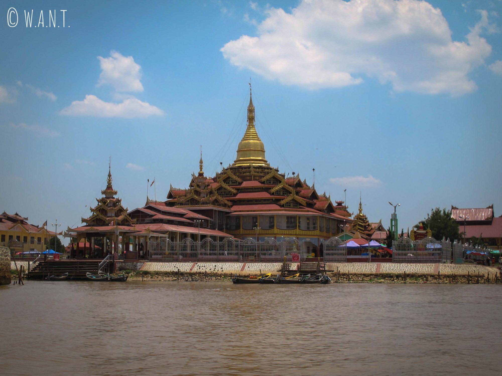 Vue sur la Pagode Phaung Daw Oo