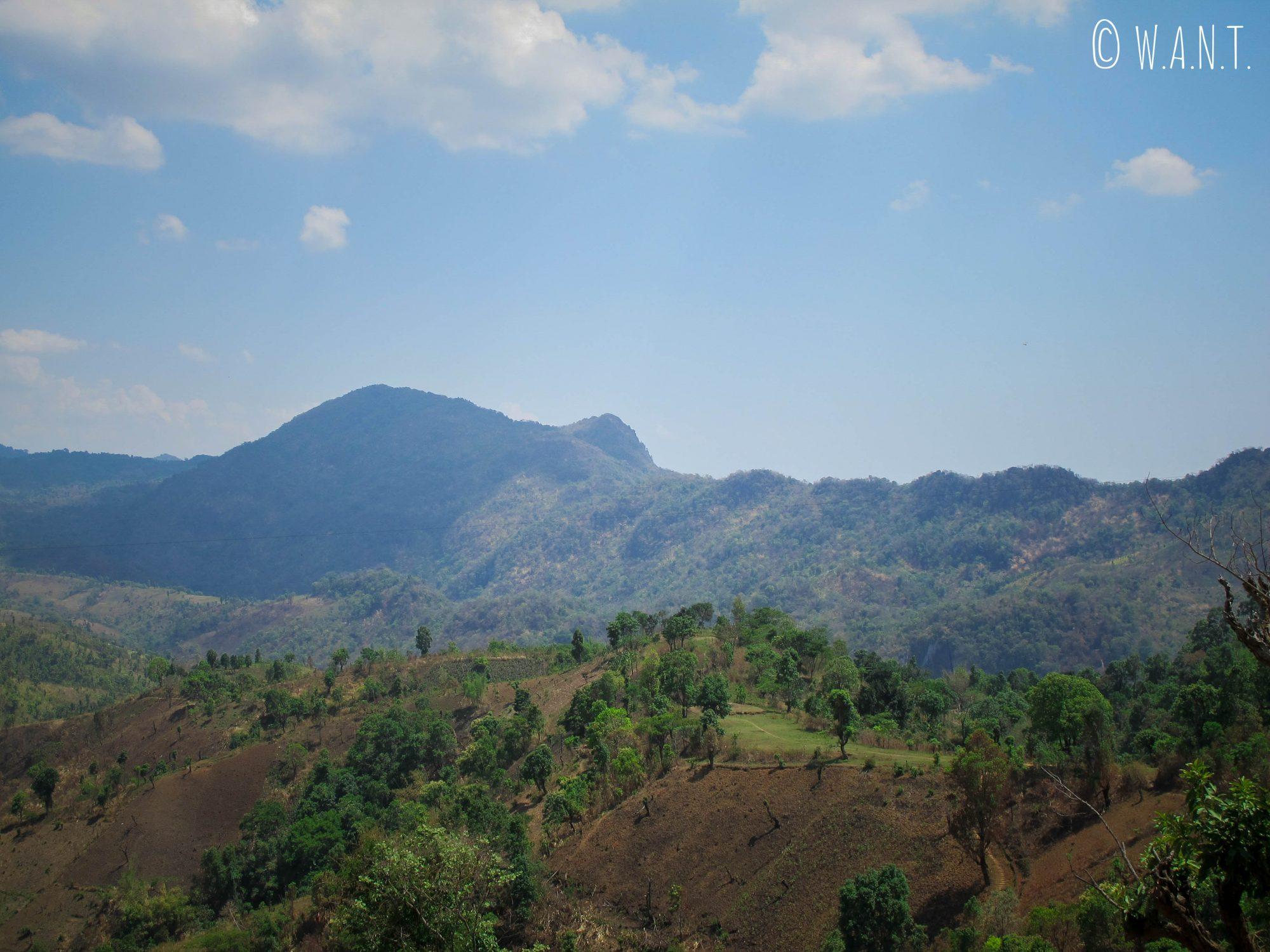 Vue sur la colline de l'éléphant