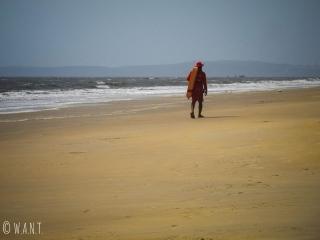 Alerte à Majorda, les sauveteurs sont postés tout le long de la plage