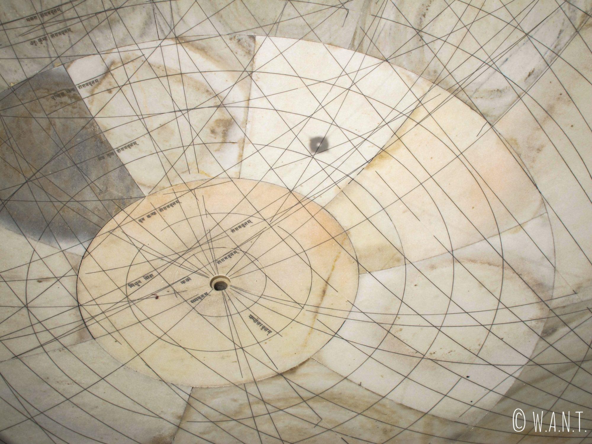 Cette coupole du Jantar Mantar sert à étudier le mouvement des étoiles
