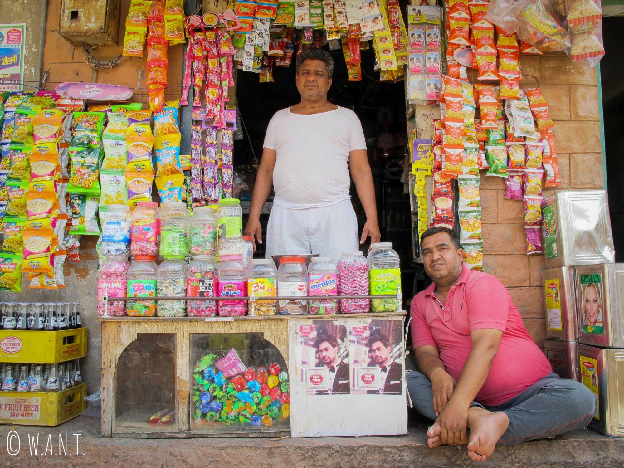 Echoppe dans les rues de Jodhpur