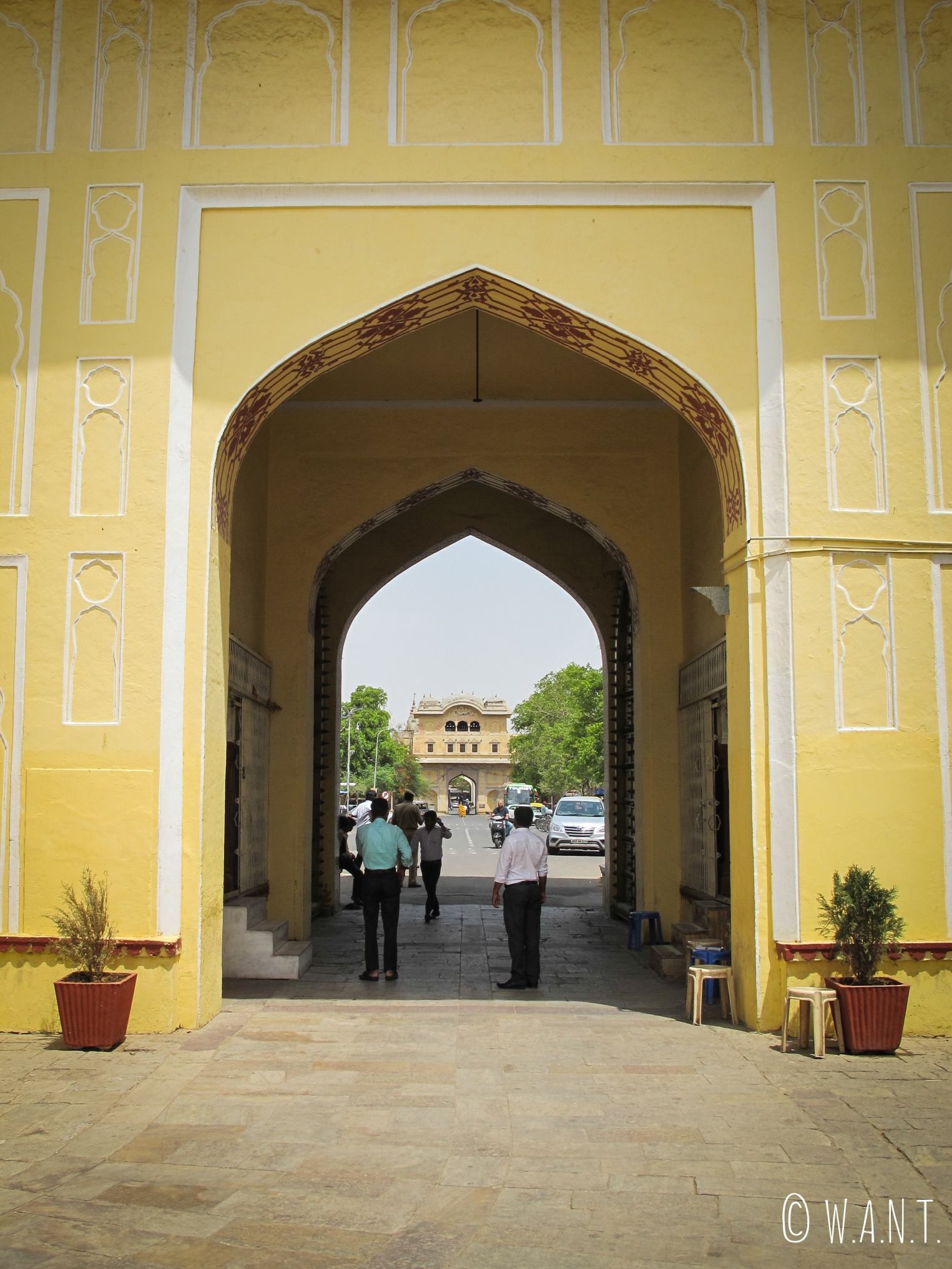 Entrée principale du City Palace