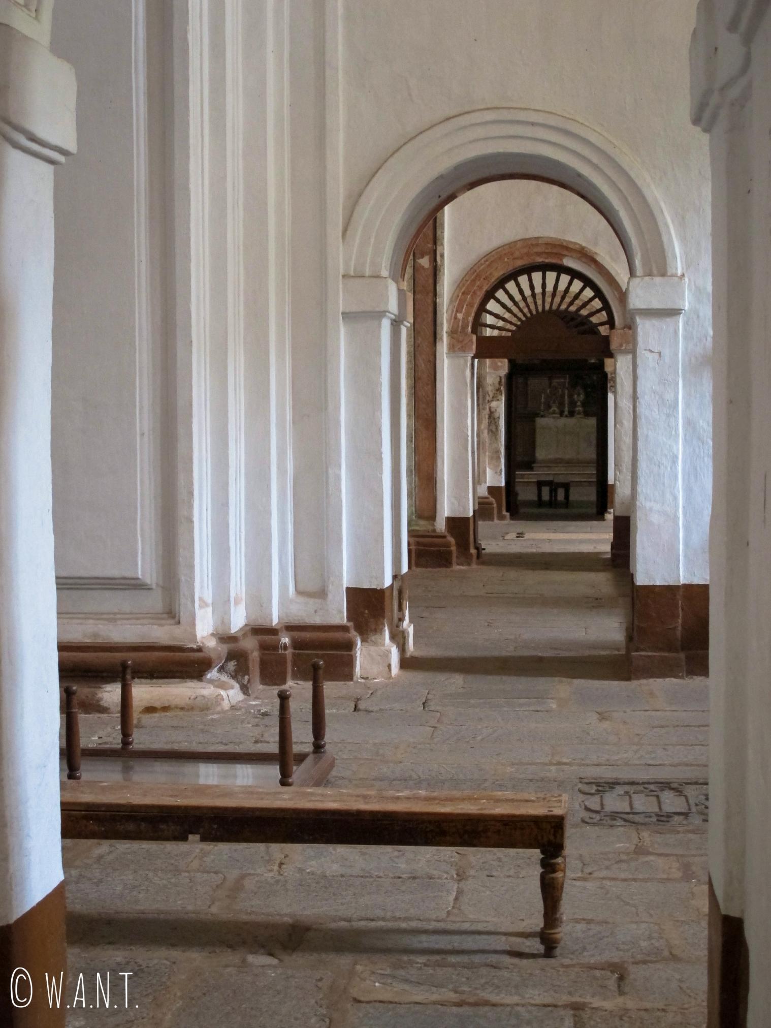 Intérieur de la cathédrale Sainte Catherine