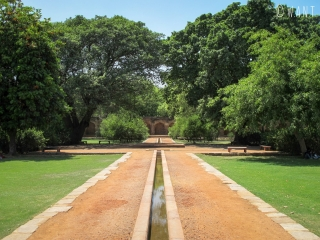 Jardins de la tombe de Humayun