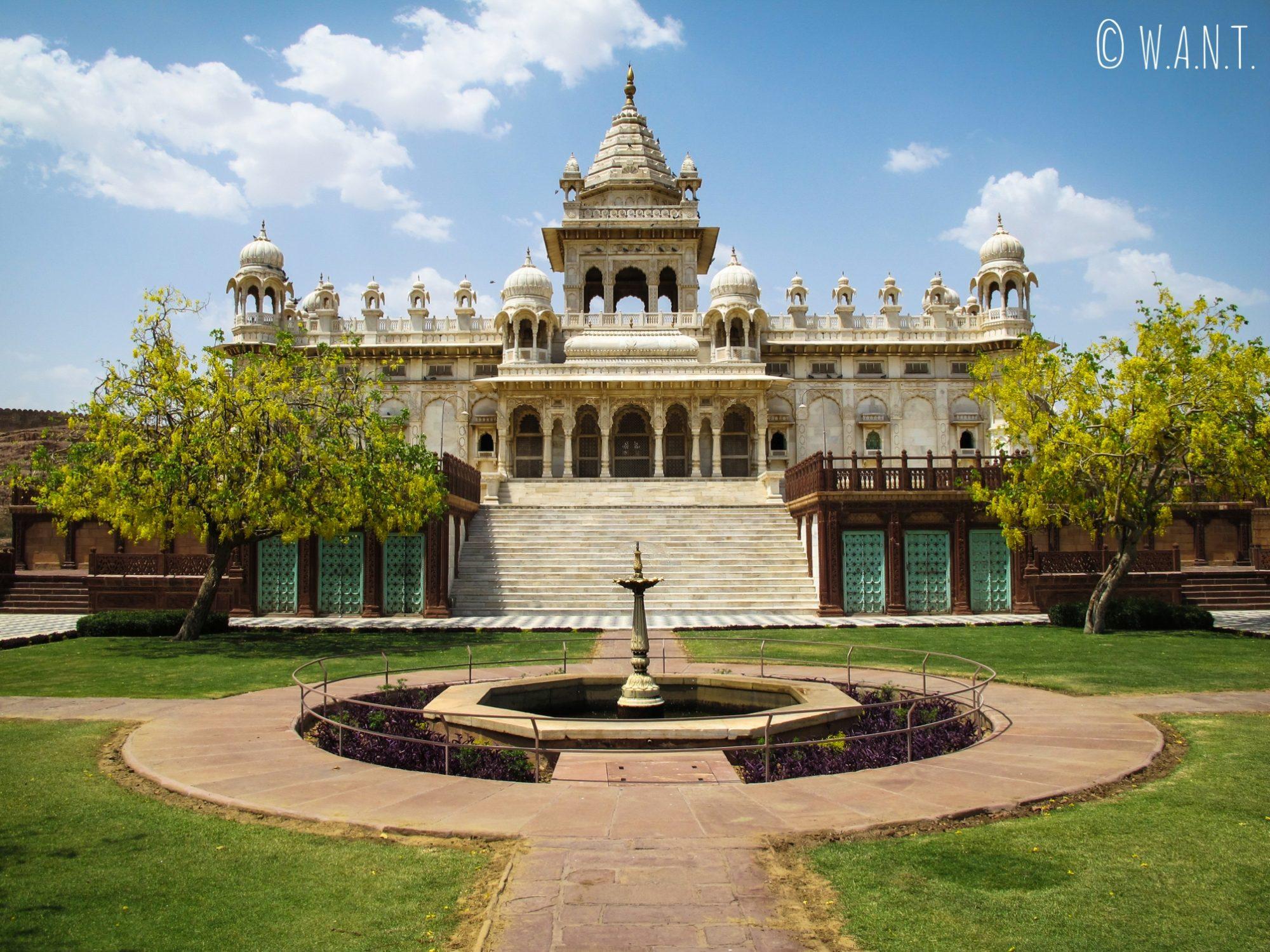 Le Jaswant Thada, fabuleux temple en marbre situé sur les hauteurs de Jodhpur