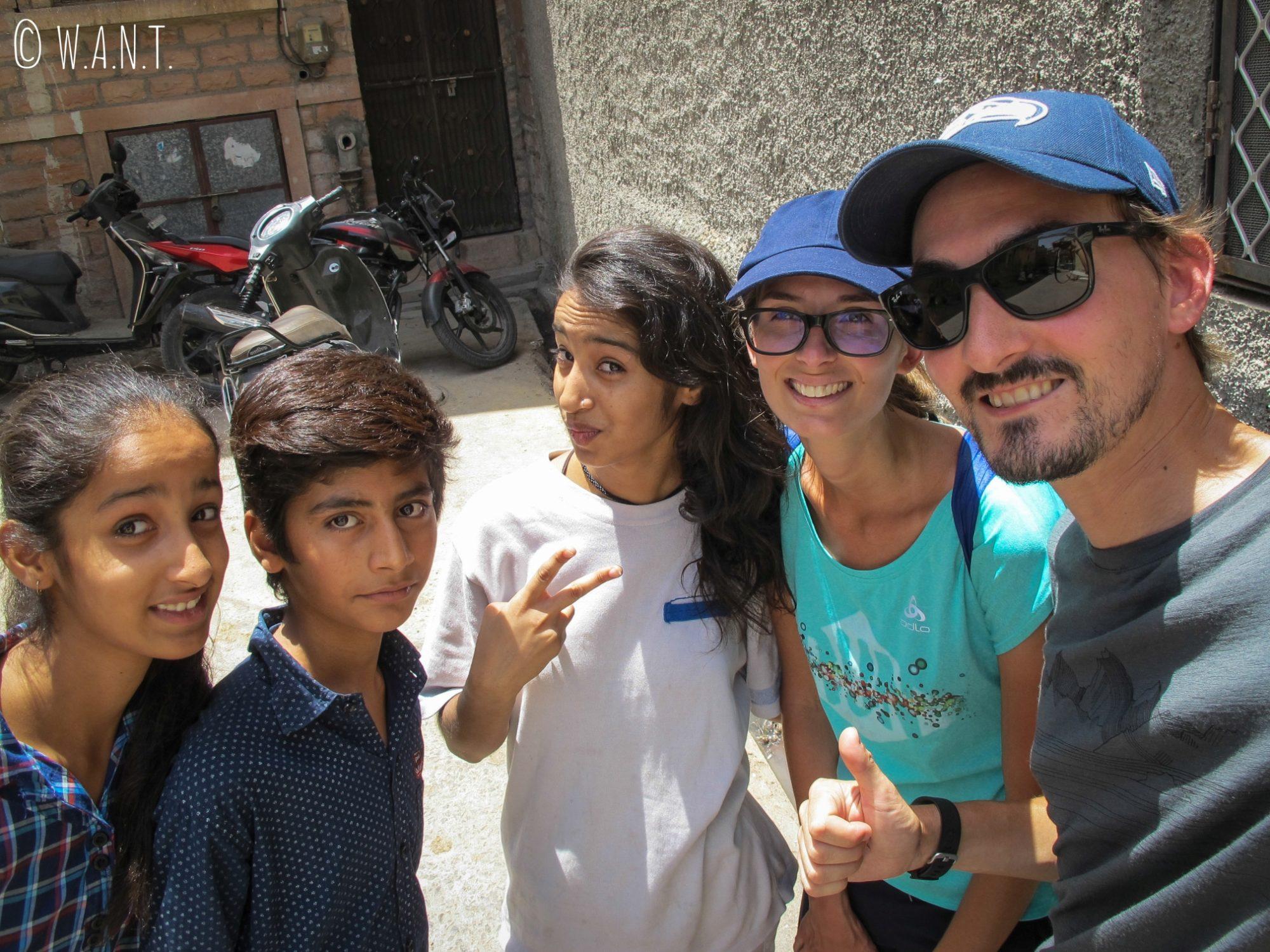 Le selfie est un language international !