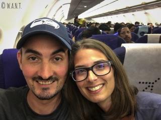 Nous prenons place sur le vol IndiGo reliant Goa à Delhi