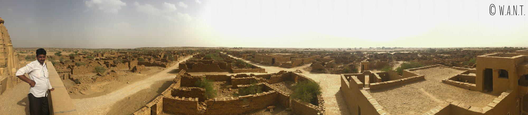 Panorama du Village vide de Kuldhara