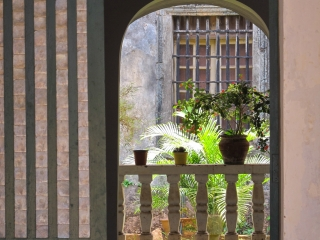 Patio du couvent Saint François d'Assise