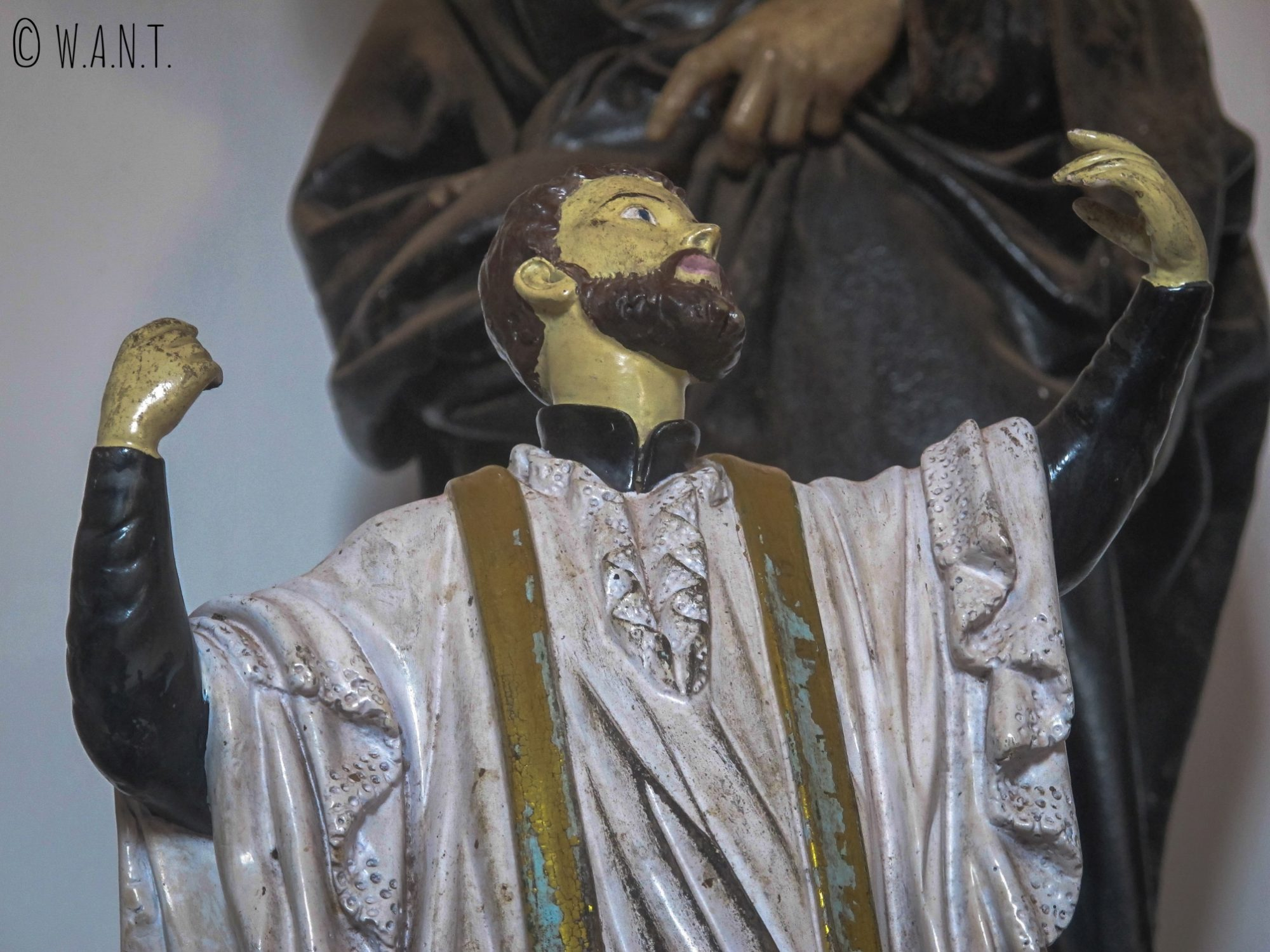 Représentation de Saint François-Xavier dans la basilique du Bom Jesus