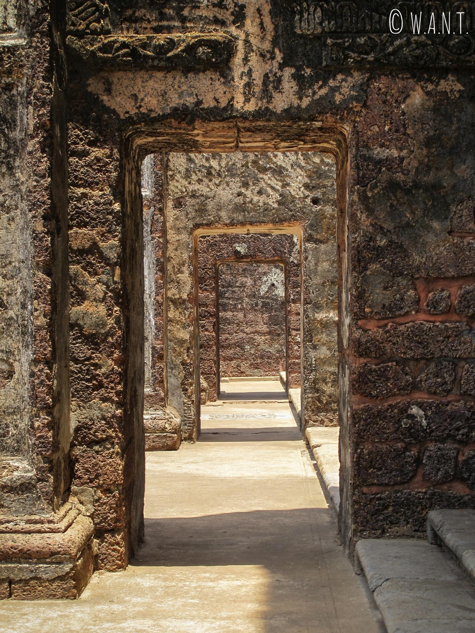Ruines de l'église et du couvent Sainte Augustine