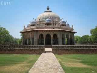 Tombe de Isa Khan Niyazi dans les jardins de la tombe de Humayun