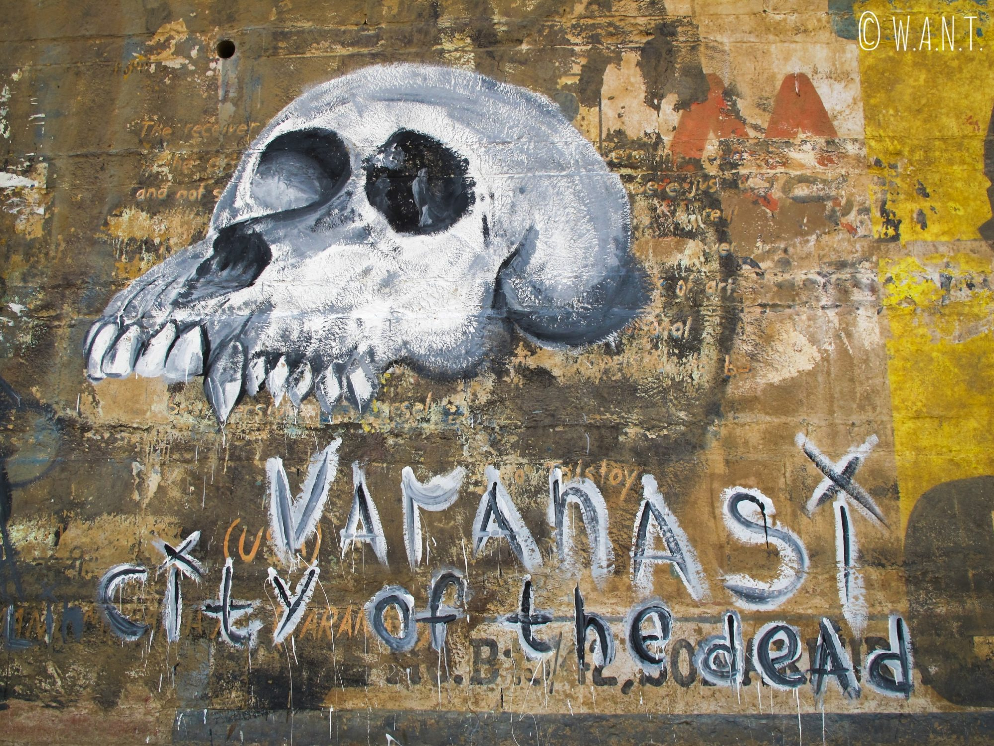Varanasi est appelée la cité des morts car les Hindous y viennent pour effectuer le rituel de la crémation