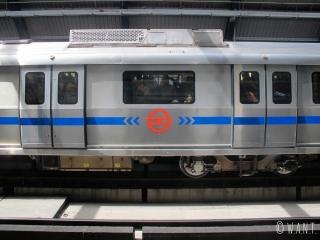 Wagon du métro de Delhi