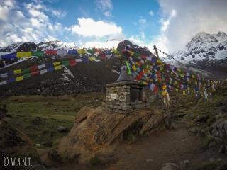 Ce petit Stupa rend hommage aux alpinistes ayant perdu la vie lors de leur ascension des Annapurnas