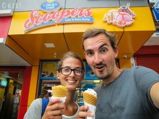 Impossible de résister aux délicieuses glaces de chez Scoopers !