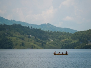 Le lac Begnas est beaucoup plus calme et moins fréquenté que le lac Fewa