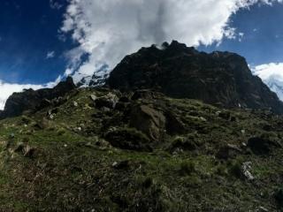 Magnifique panorama des Annapurnas ainsi que du Machhapuchhre