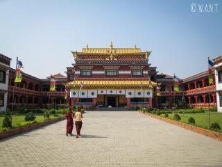 Monastère du Canada à Lumbini