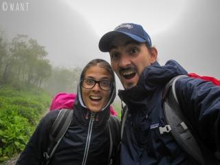 Ni la brume, ni la pluie ne viendront à bout de notre mental d'acier !