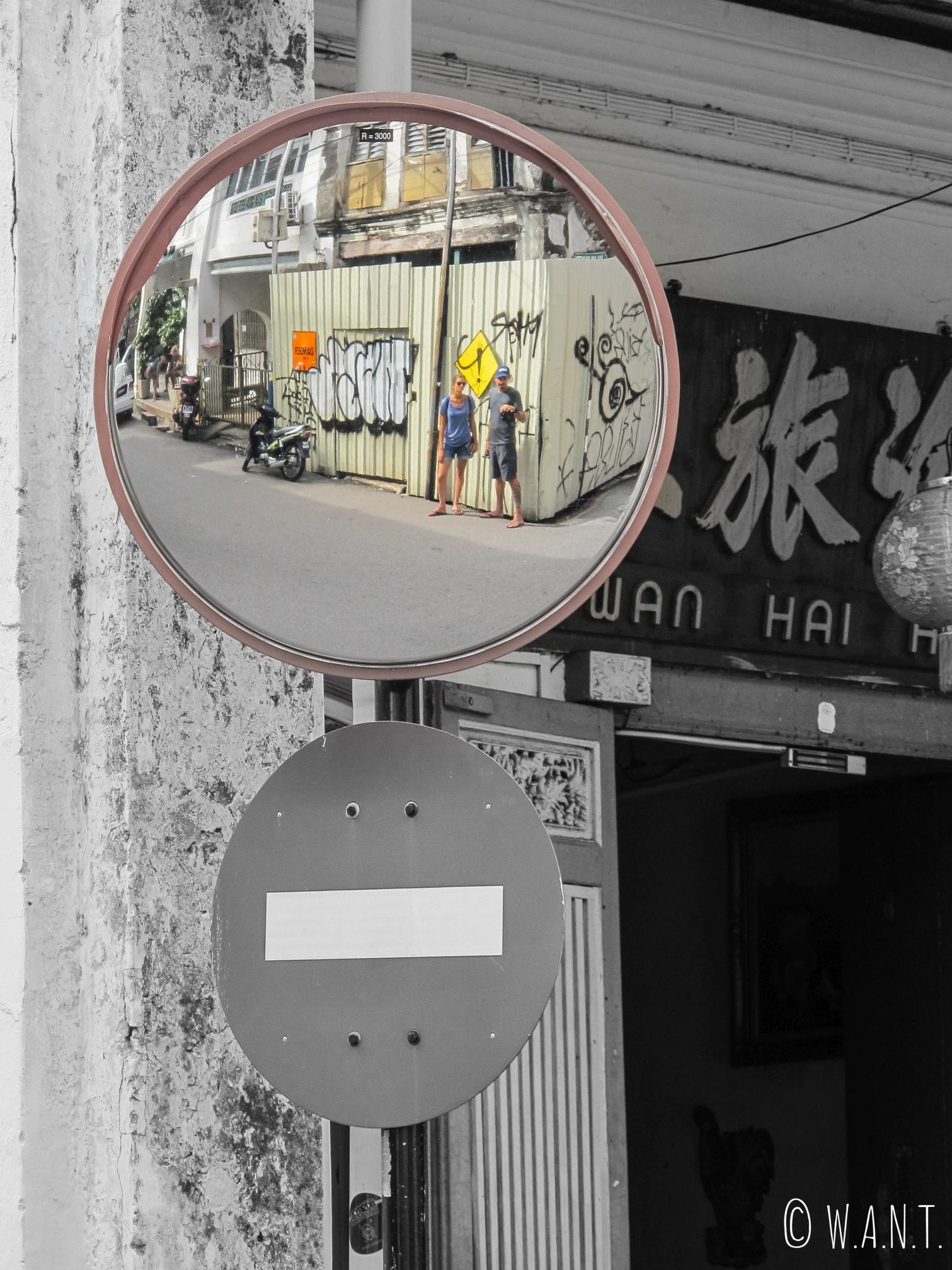 Art de rue ou pas art de rue à Penang...