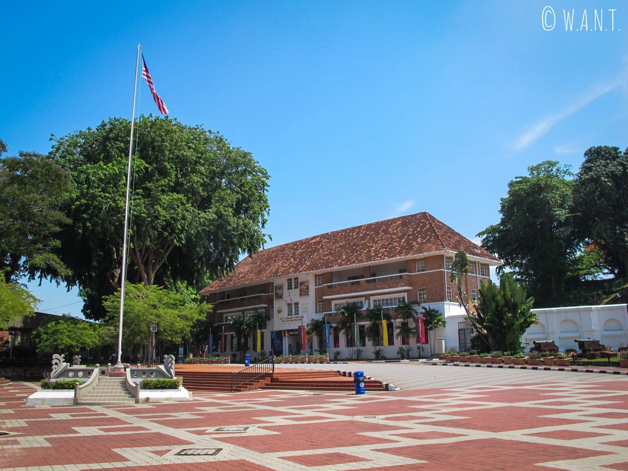 La rue Jalan Kota de Malacca est piétonnière