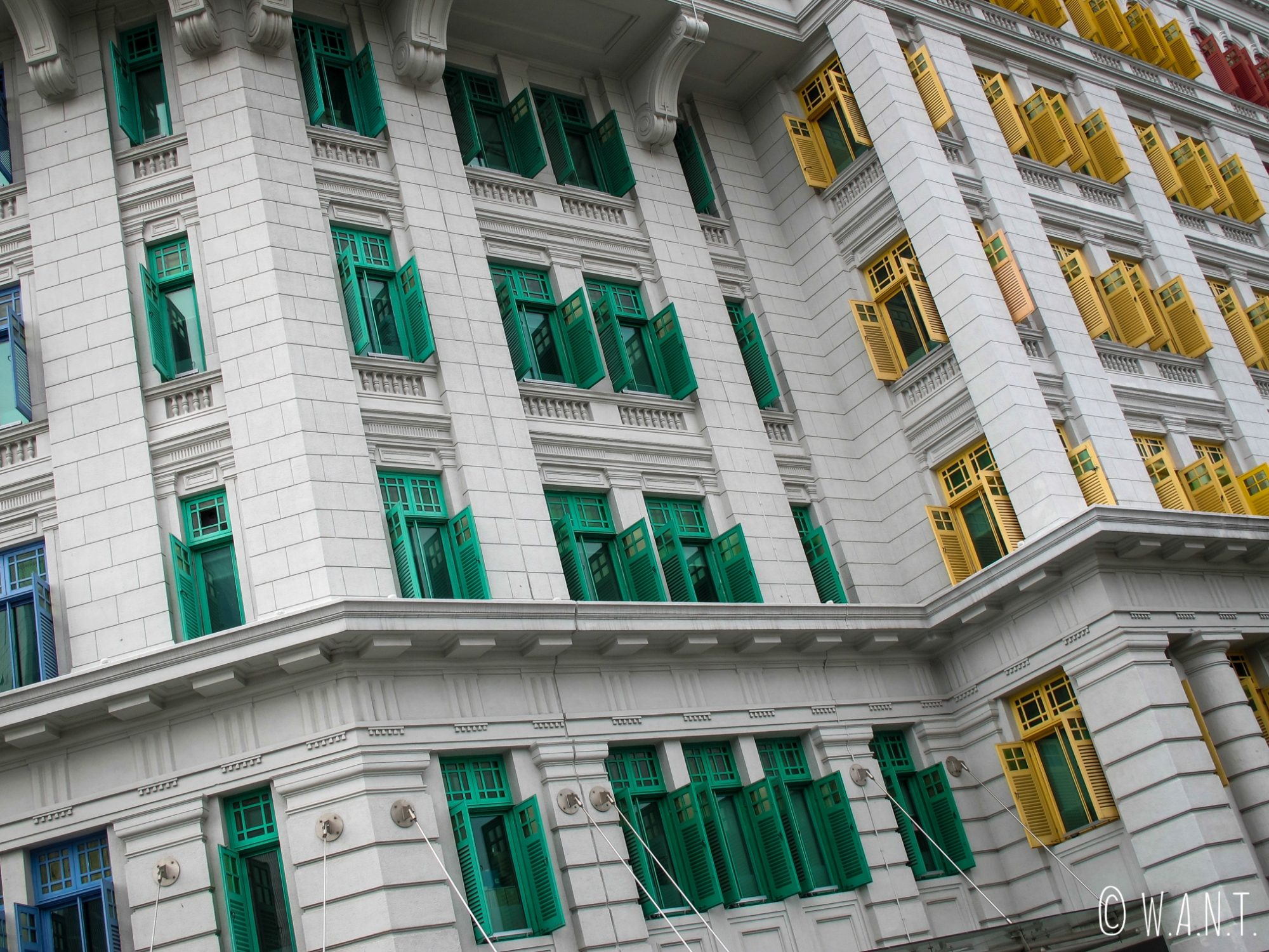 L'ancien hôtel de police de Singapour abrite maintenant deux ministères