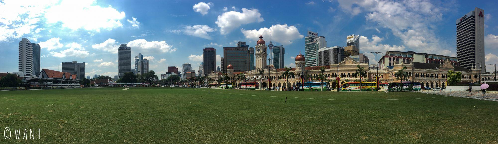 Panorama de Merdeka Square à Kuala Lumpur