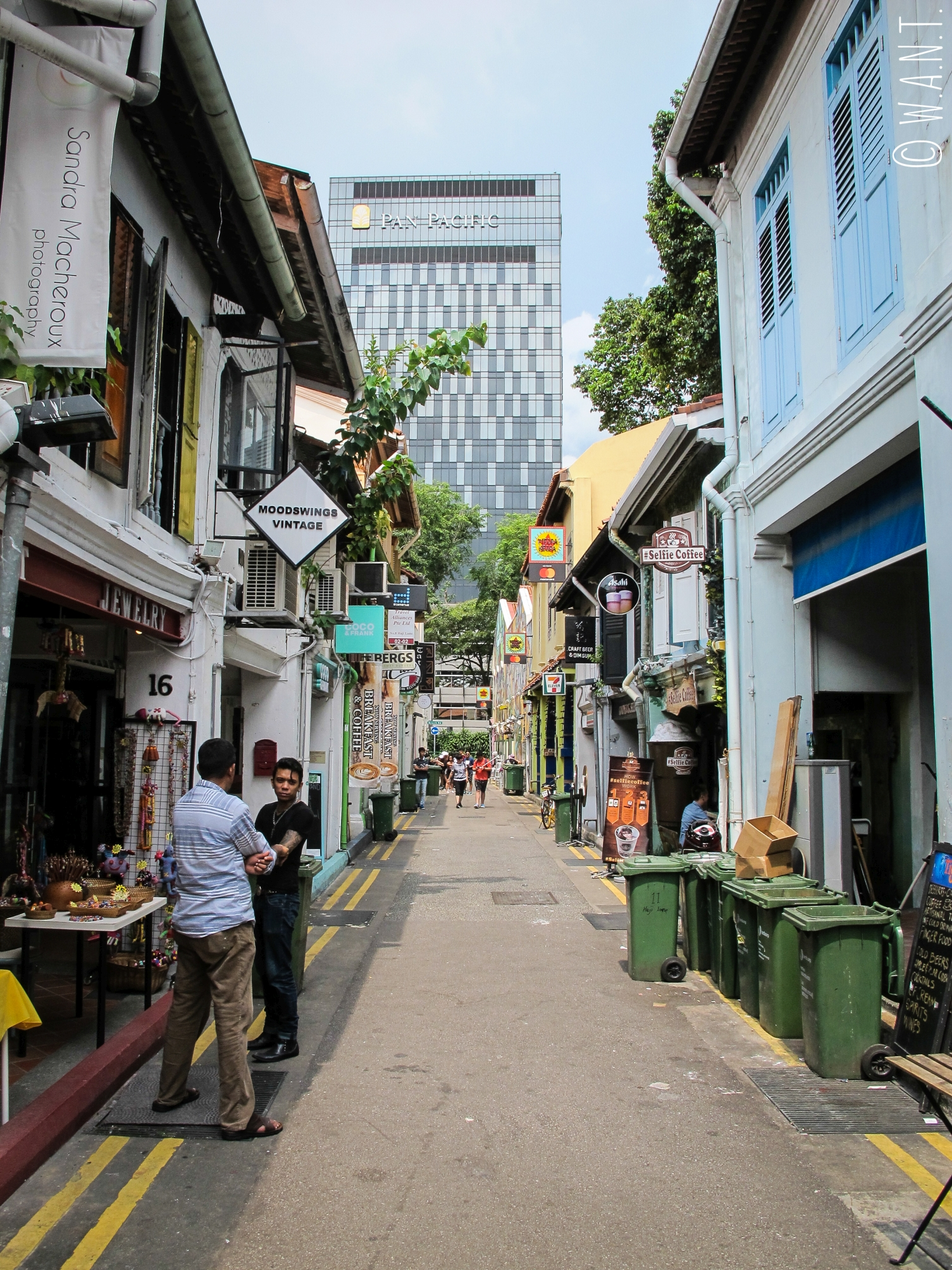Rue Haji Lane à Singapour