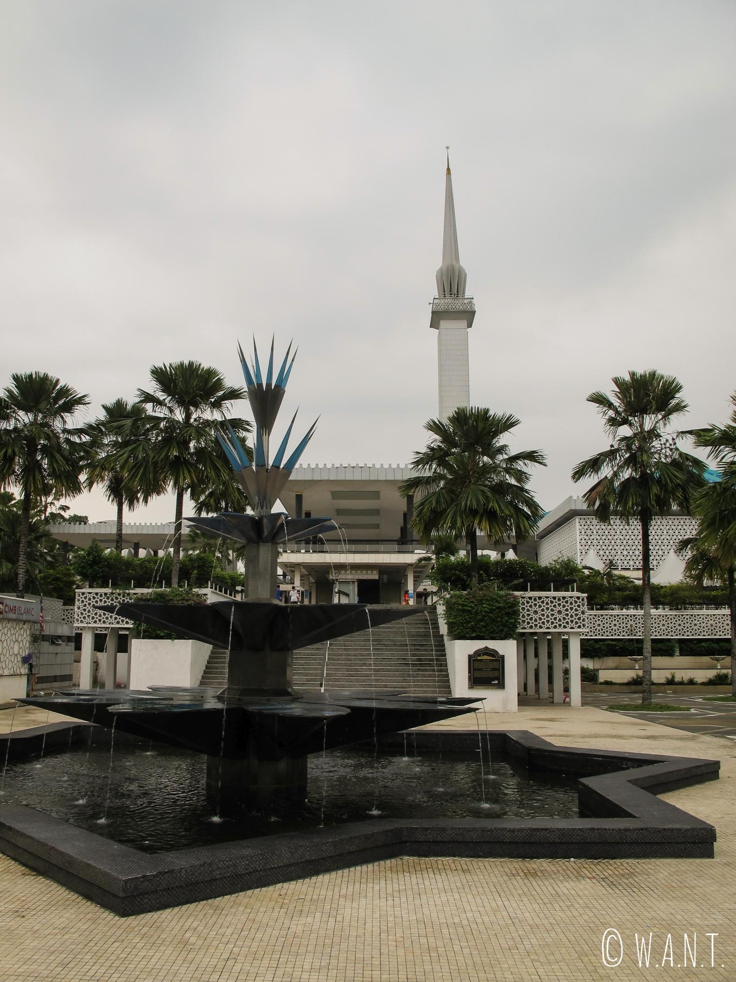 Vue sur National Mosque de Kuala Lumpur