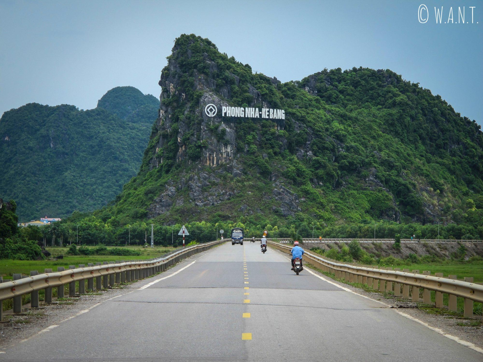 Arrivée depuis Dong Hoi au parc national Phong Nha-Ke Bang