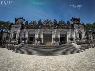 Bâtiment principal  du Mausolée de Khai Dinh