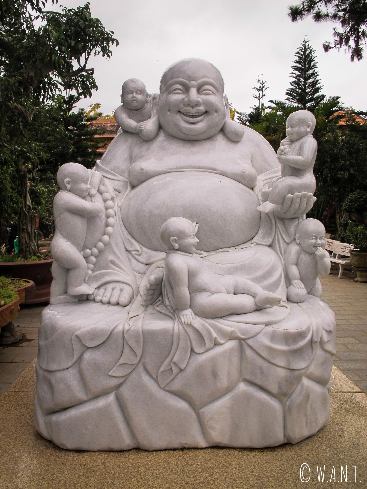 Bouddha rieur du Van Hanh Temple de Da Lat