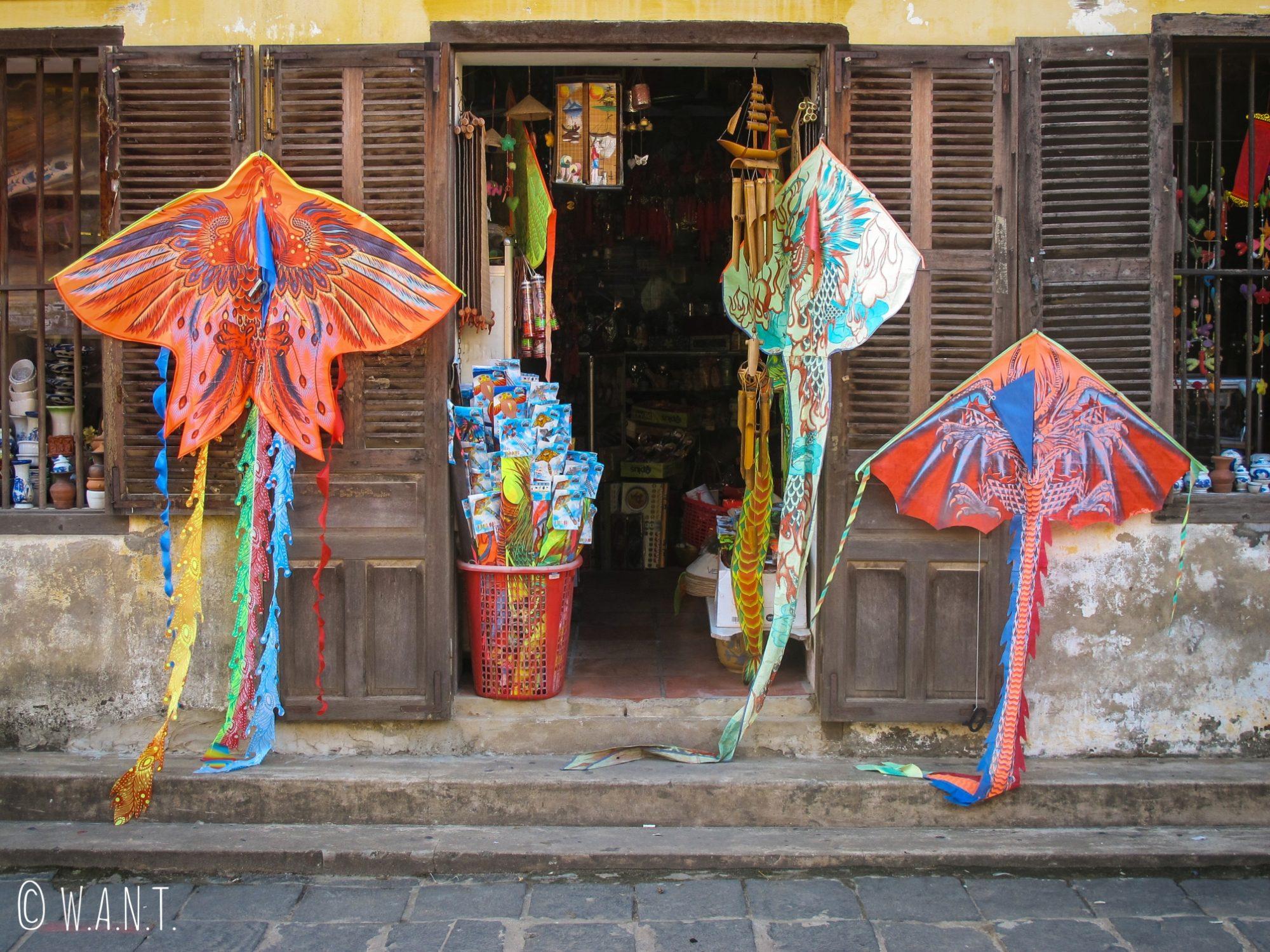 Boutique de souvenirs de la vieille ville de Hoi An