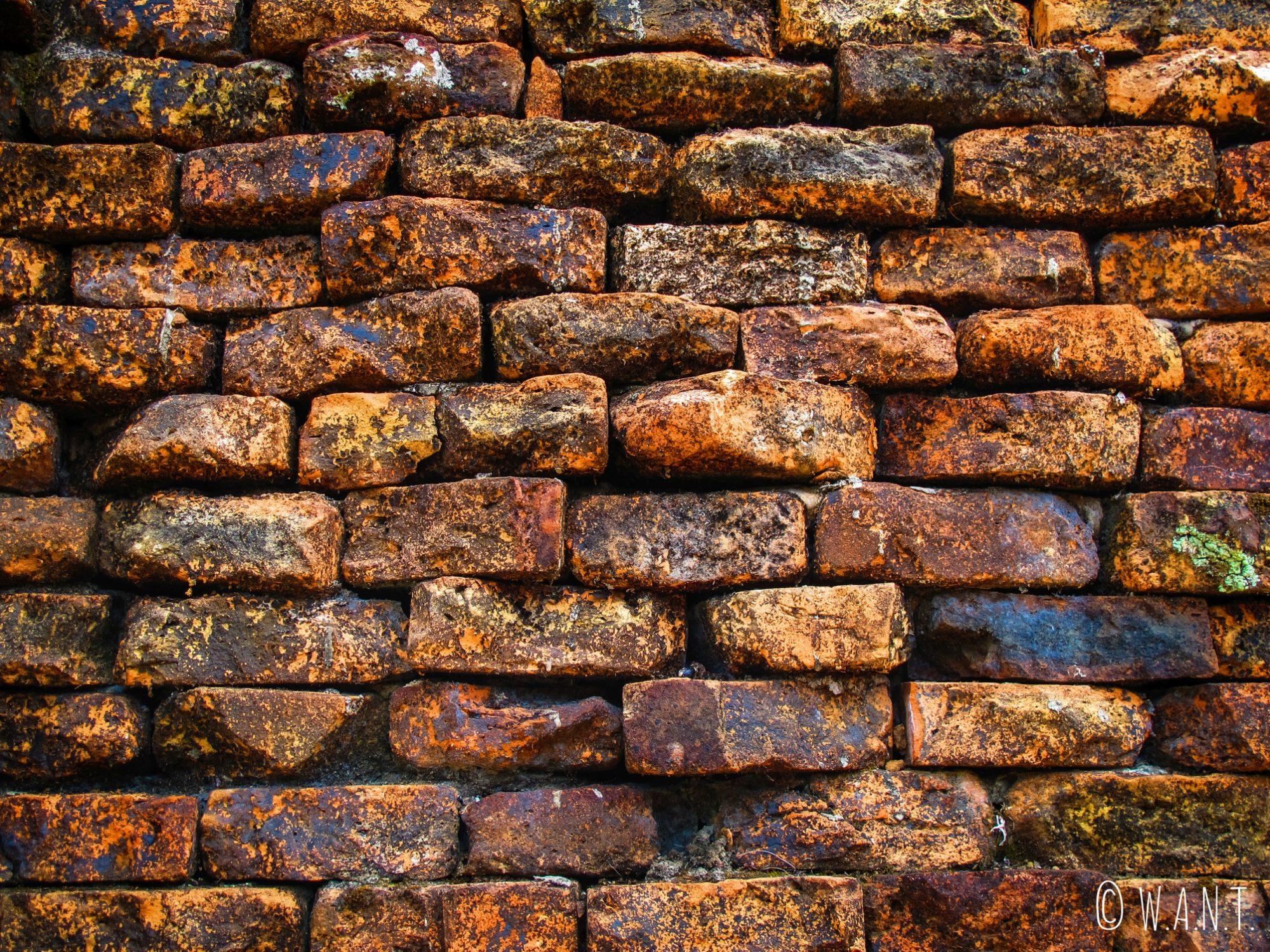 Briques rouges du site de My Son
