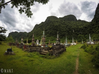 Cimetière dans le parc national Phong Nha-Ke Bang