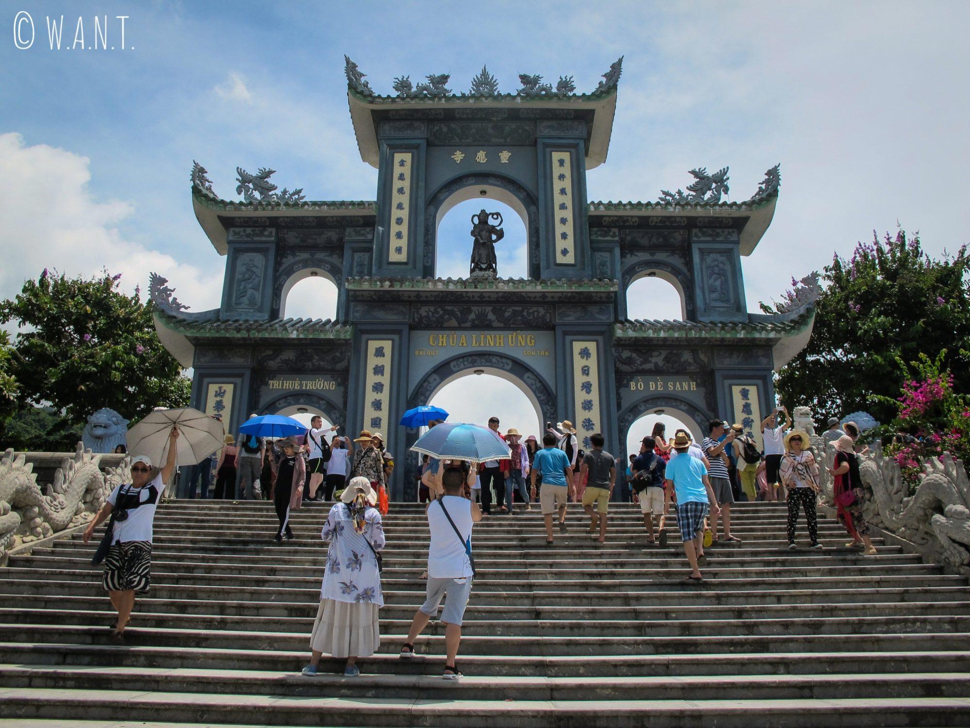 Entrée de la pagode Linh Ung sur la presqu'île Son Tra