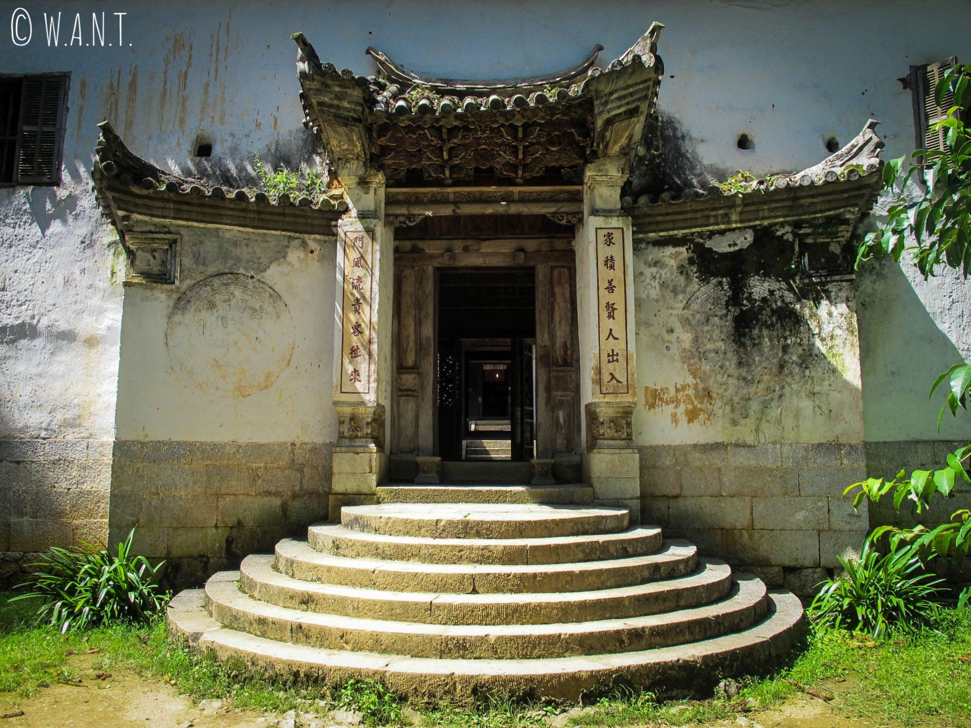 Entrée du palais Hmong de Sa Phin