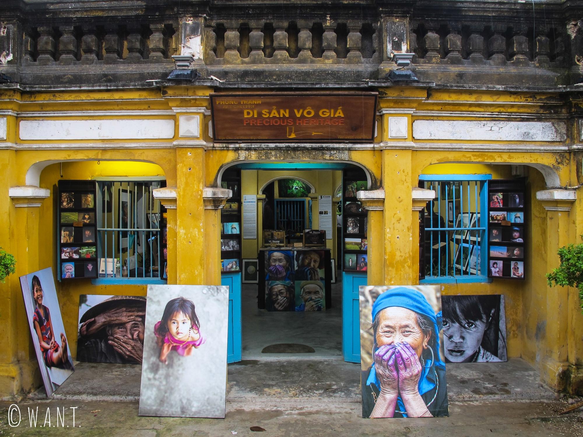 Façade du Precious Heritage Art Gallery Museum à Hoi An