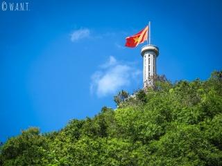 La tour du Drapeau est située à Lung Cu, ville la plus au nord du Vietnam
