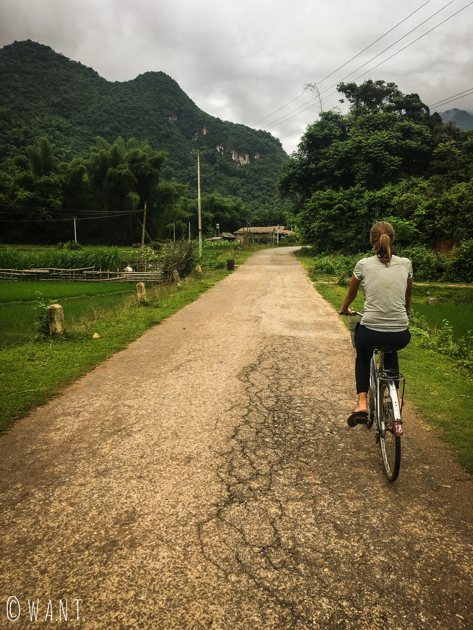 L'activité principale de Mai Chau est la balade à vélo